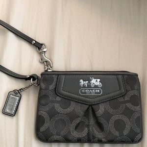Coach Small Wallet Clutch Wristlet